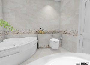Faianta tip piatra pentru baie