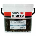 Vopsea lavabila decorativa cu aspect sidefat gama MARCOPOLO LUXURY - SAN MARCO (Italia).