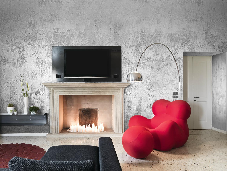 Vopsea sidefata de interior gama marcopolo luxury san marco - Effetti decorativi pittura ...