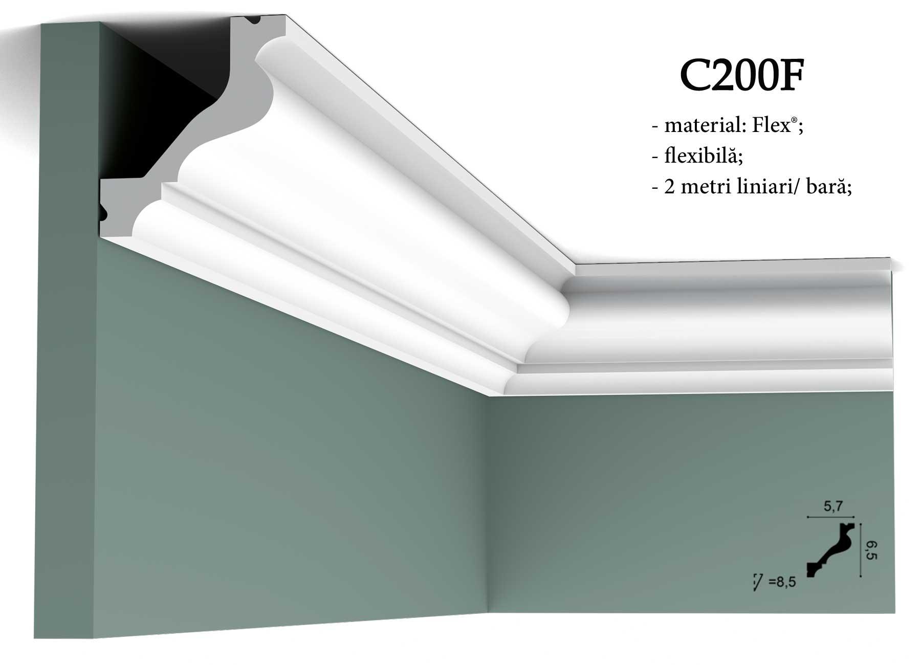 Cornisa pentru tavan Orac Decor C200F