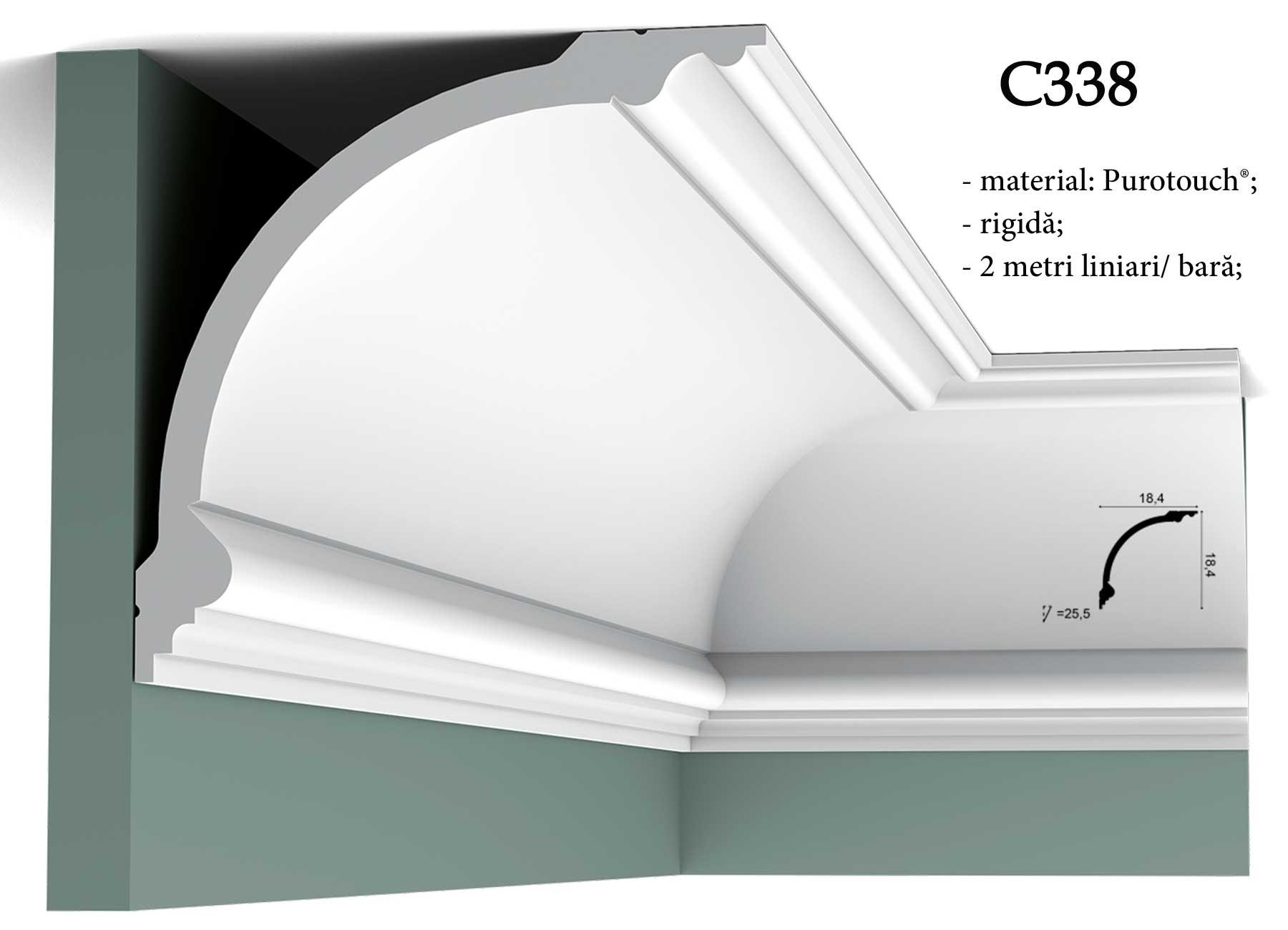 Cornisa pentru tavan Orac Decor C338