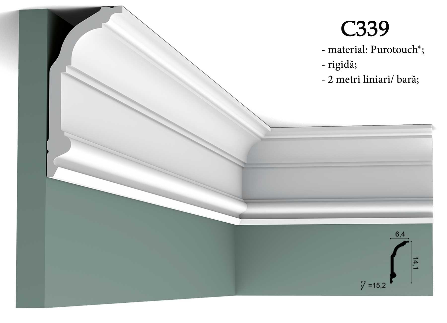 Cornisa pentru tavan Orac Decor C339