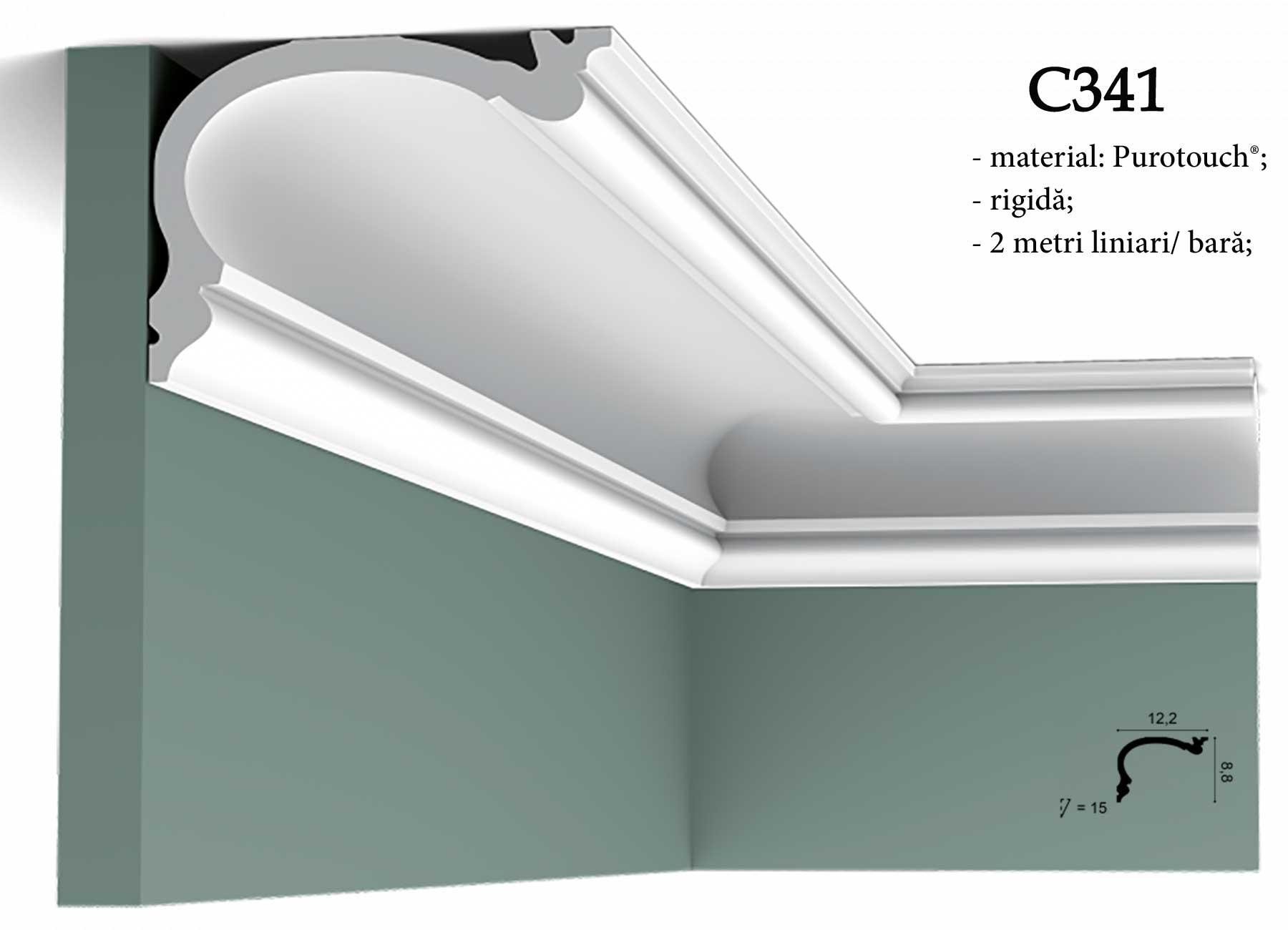 Cornisa pentru tavan Orac Decor C341