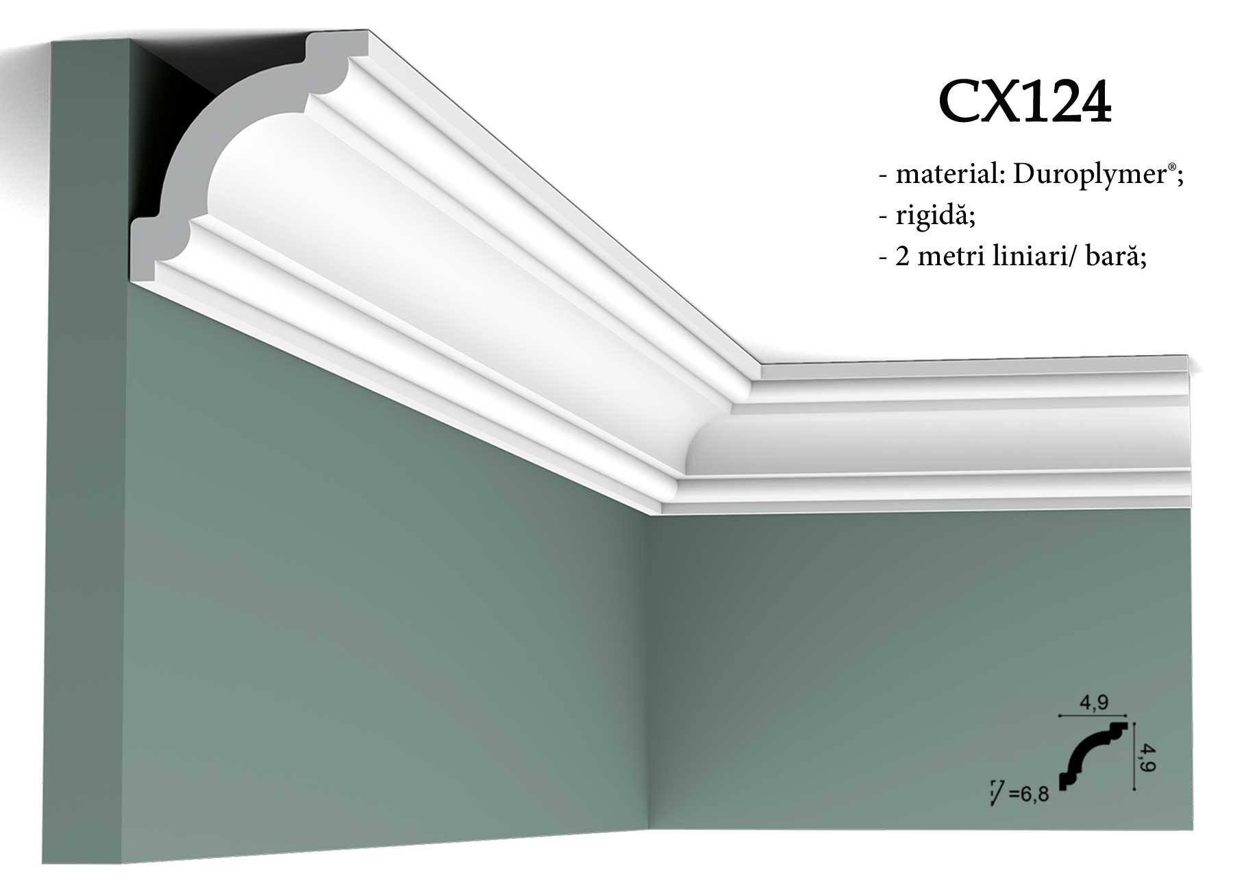 Cornisa decorativa pentru tavan Orac Decor CX124