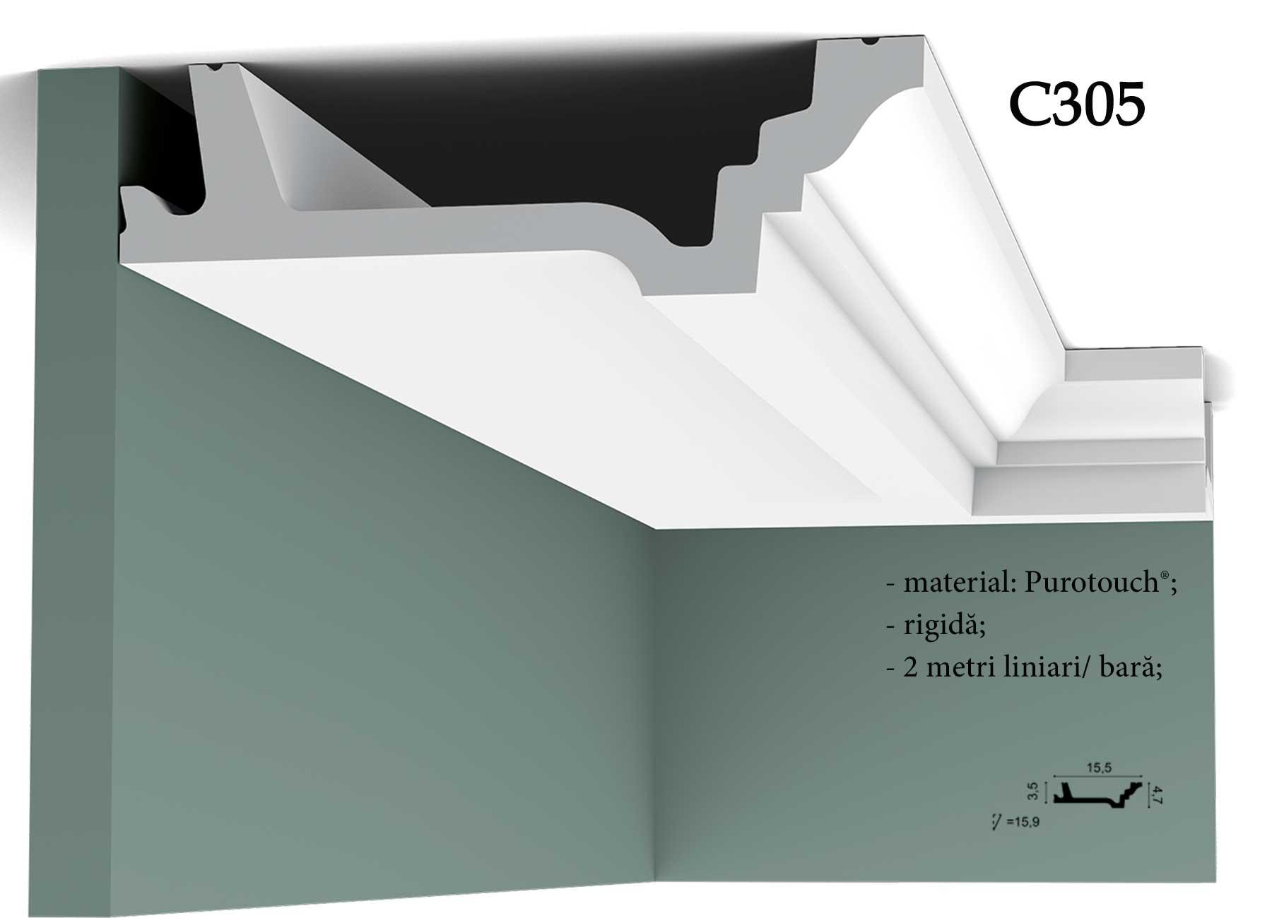 Cornisa decorativa pentru tavan Orac Decor C305