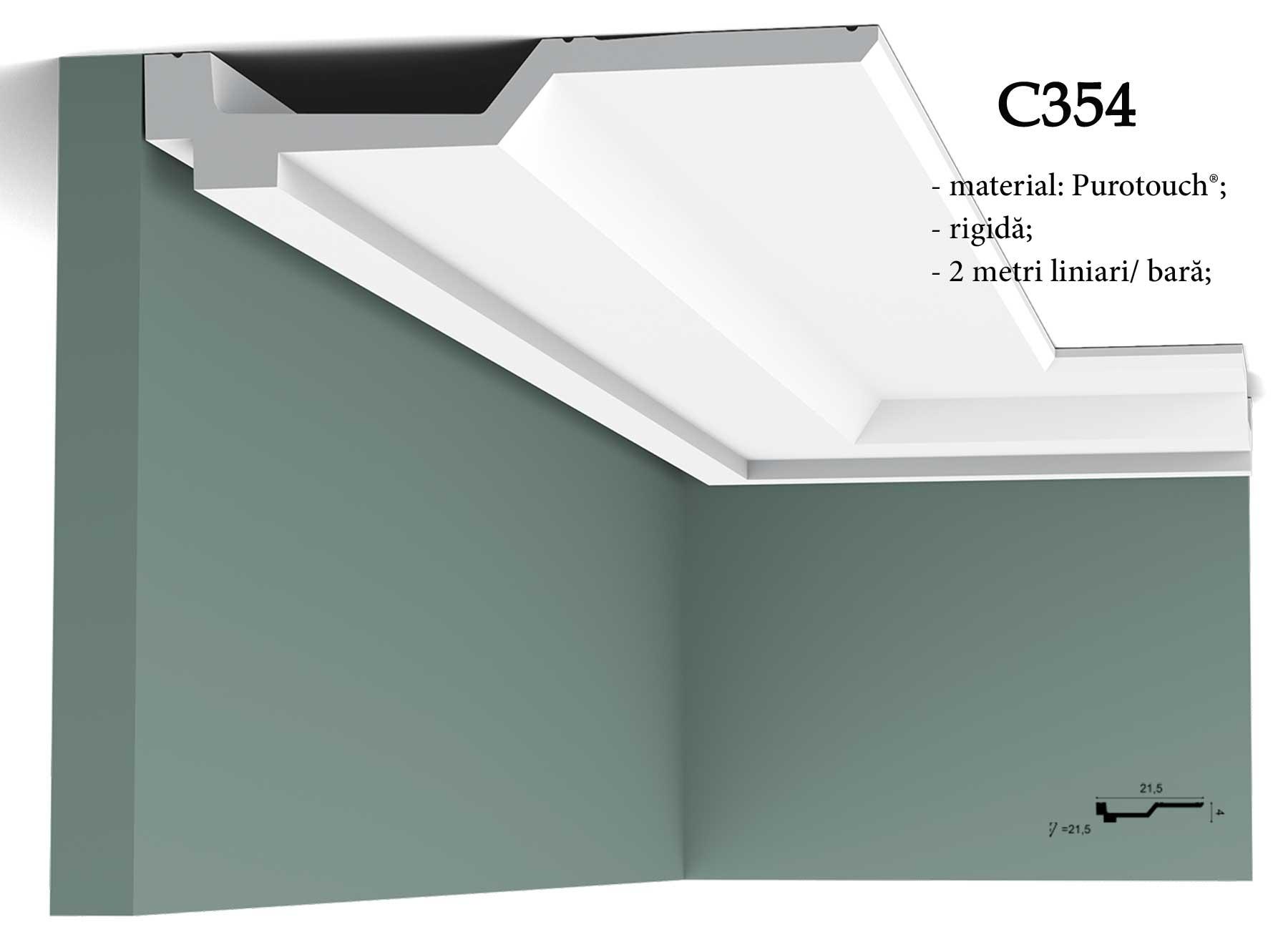 Cornisa decorativa pentru tavan Orac Decor C354