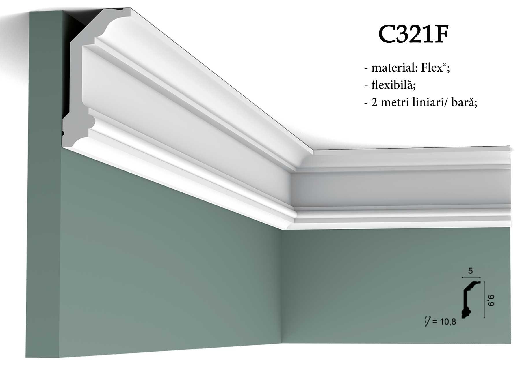 Cornisa pentru tavan Orac Decor C321F