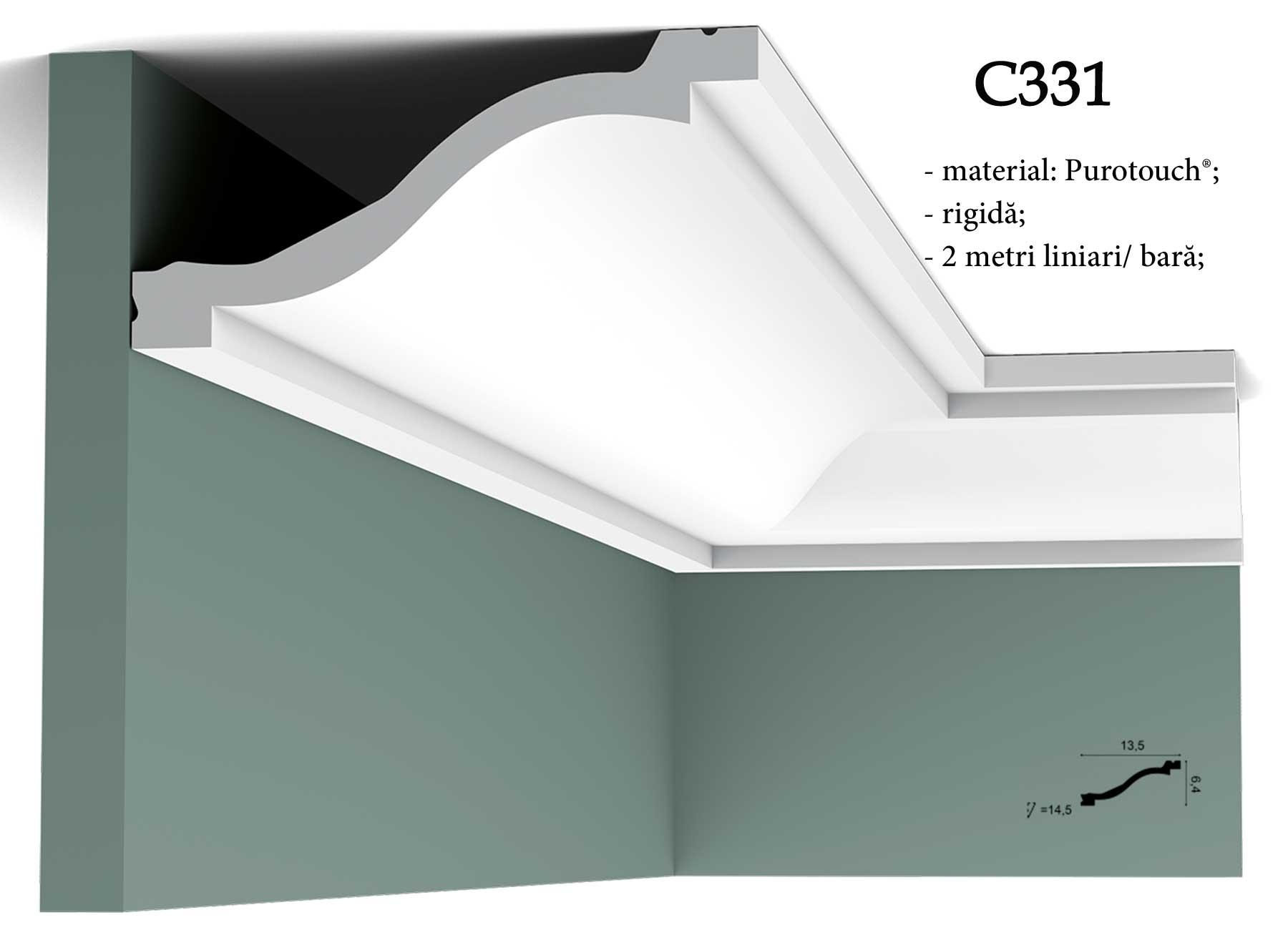 Cornisa C331 tavan Orac Decor.