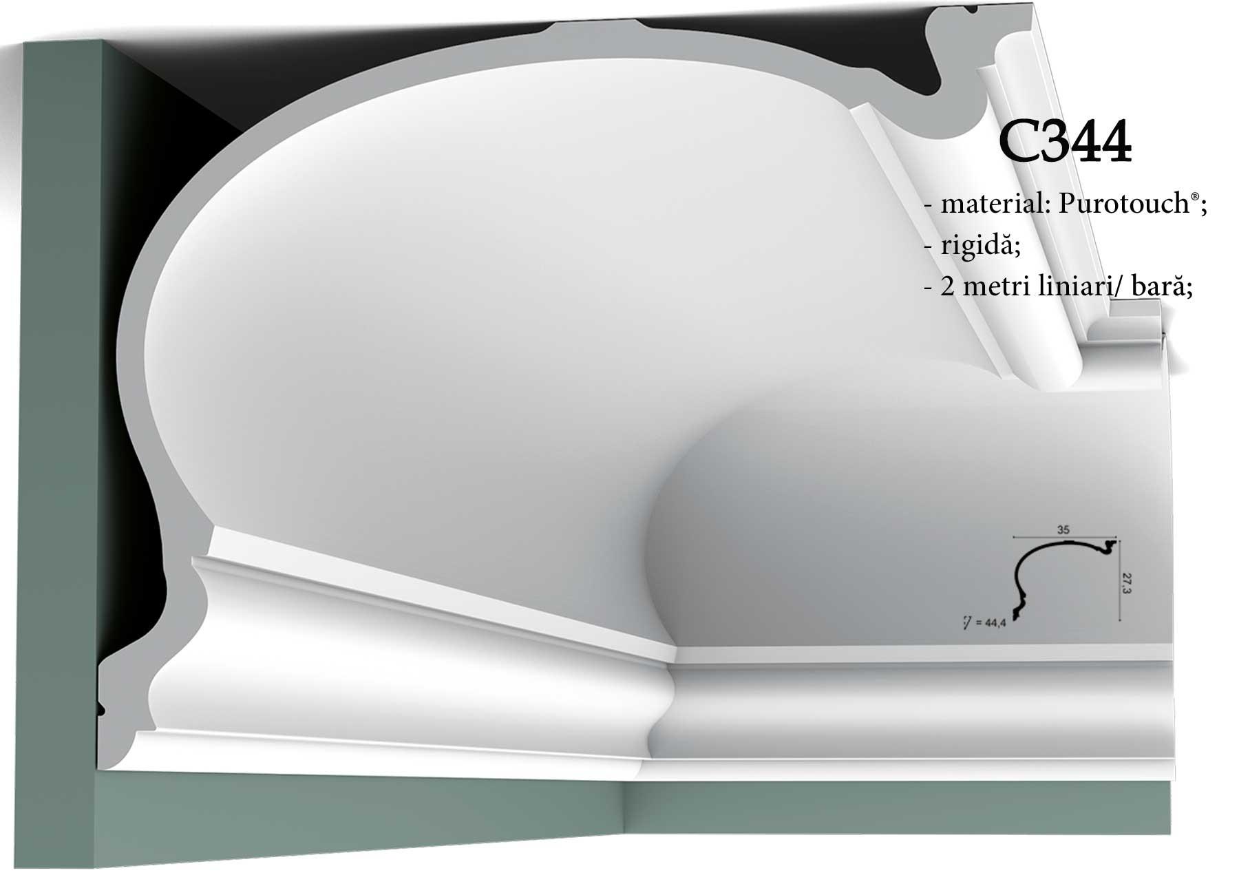 Cornisa decorativa pentru tavan Orac Decor C344