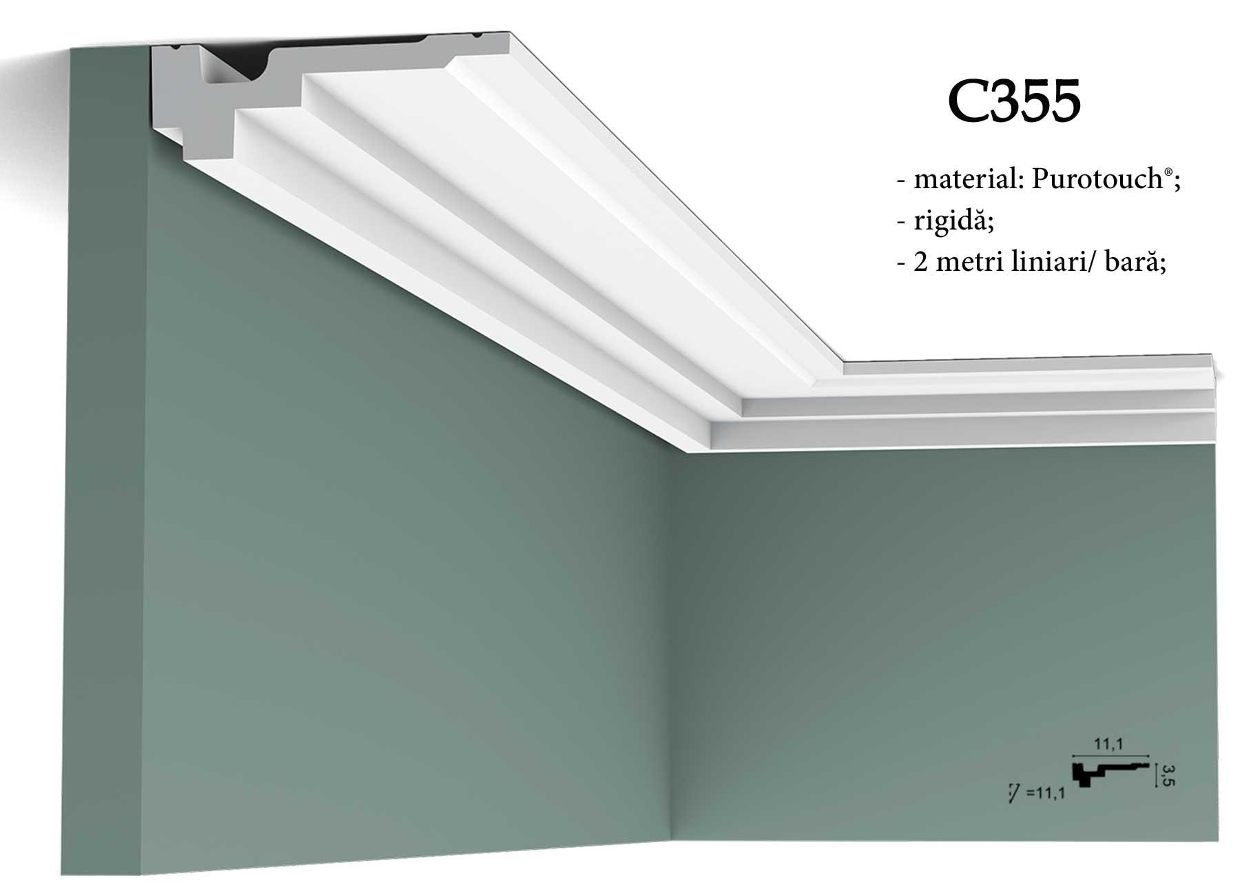 Cornisa decorativa pentru tavan Orac Decor C355