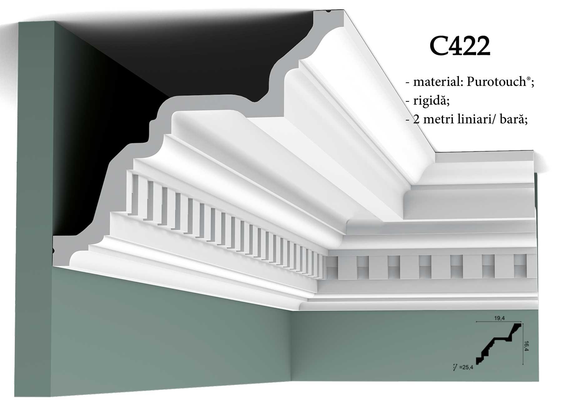 C422 Cornisa decorativa pentru tavan Orac Decor.