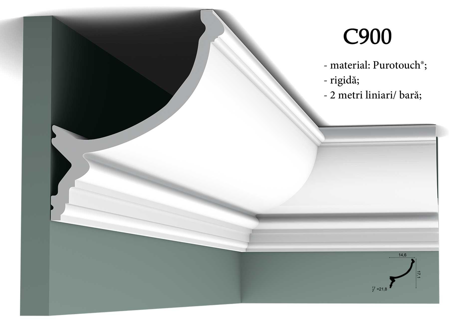 C900 Coltar decorativ pentru tavan Orac Decor.
