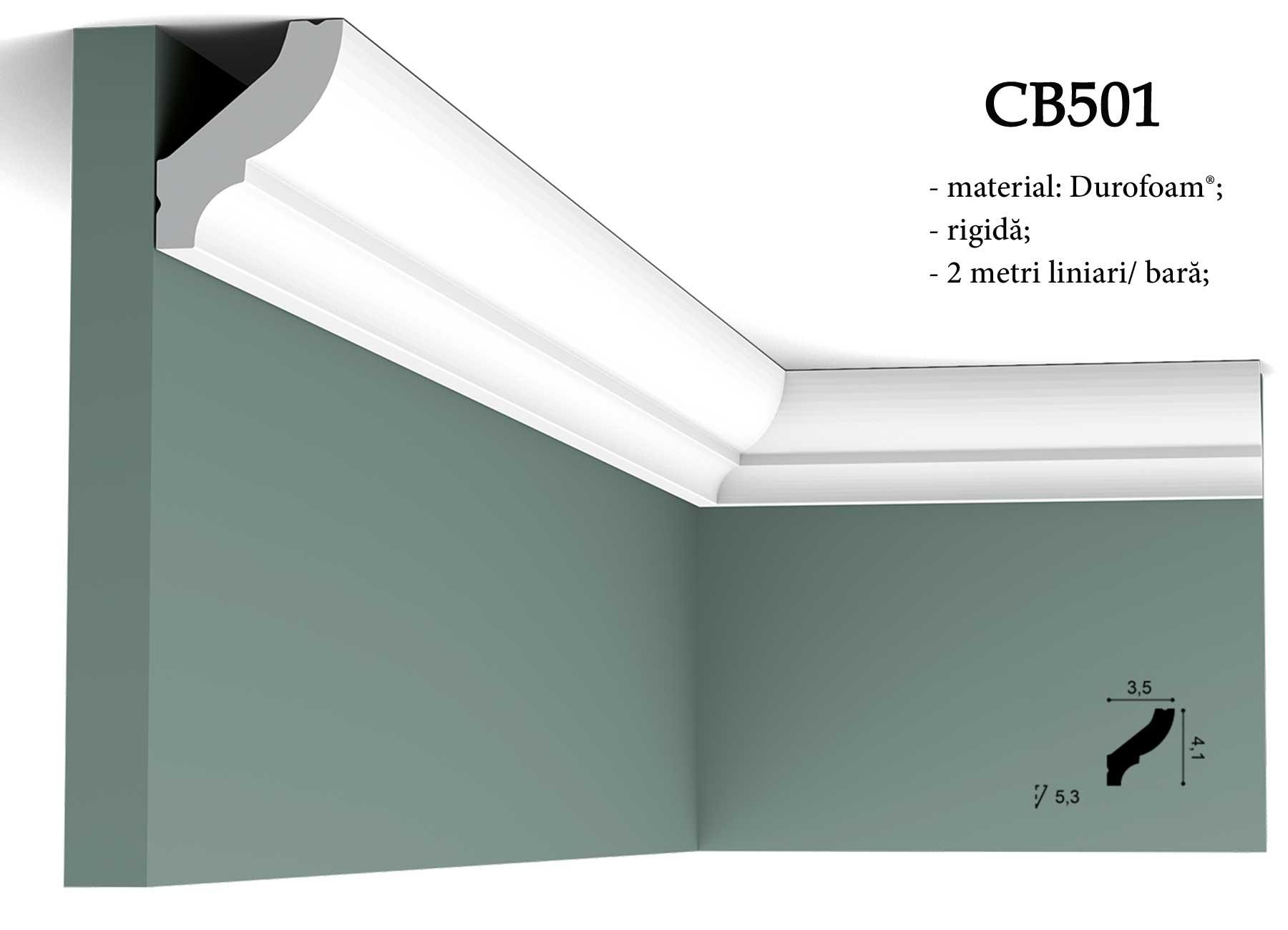 CB501 brau decorativ pentru tavan Orac Decor.