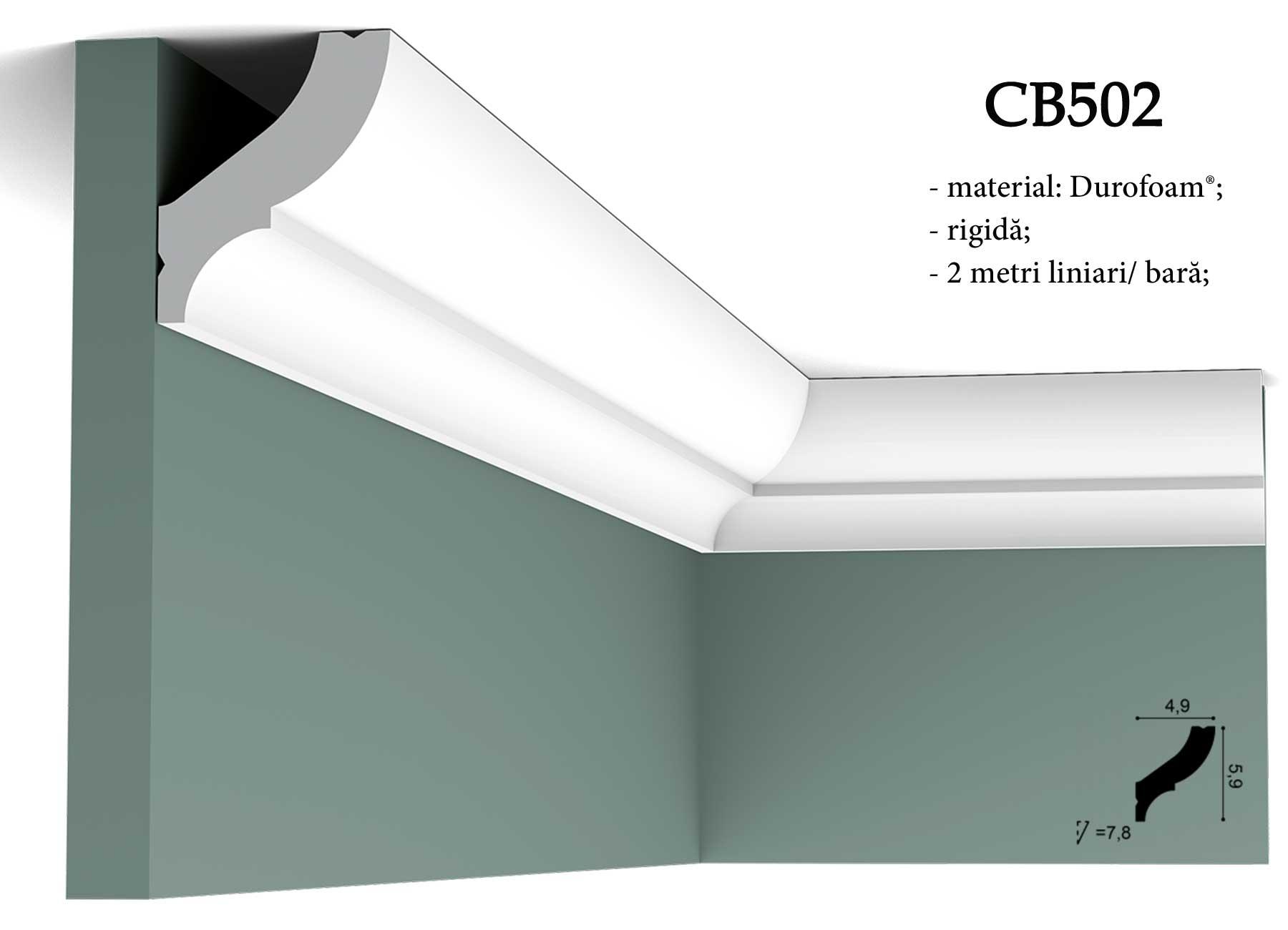 CB502 cornisa decorativa pentru tavan Orac Decor.