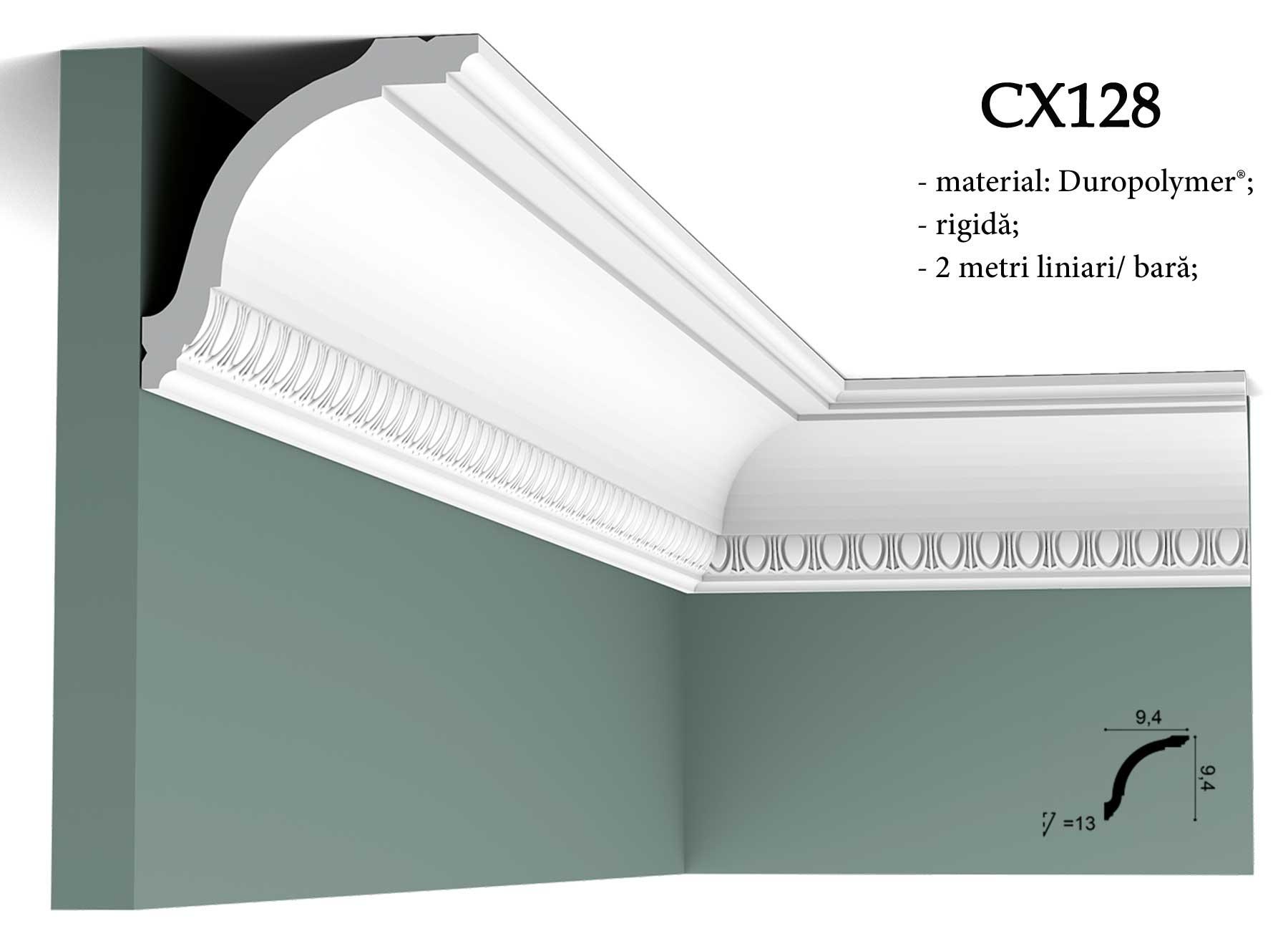 Cornisa decorativa pentru tavan Orac Decor CX128