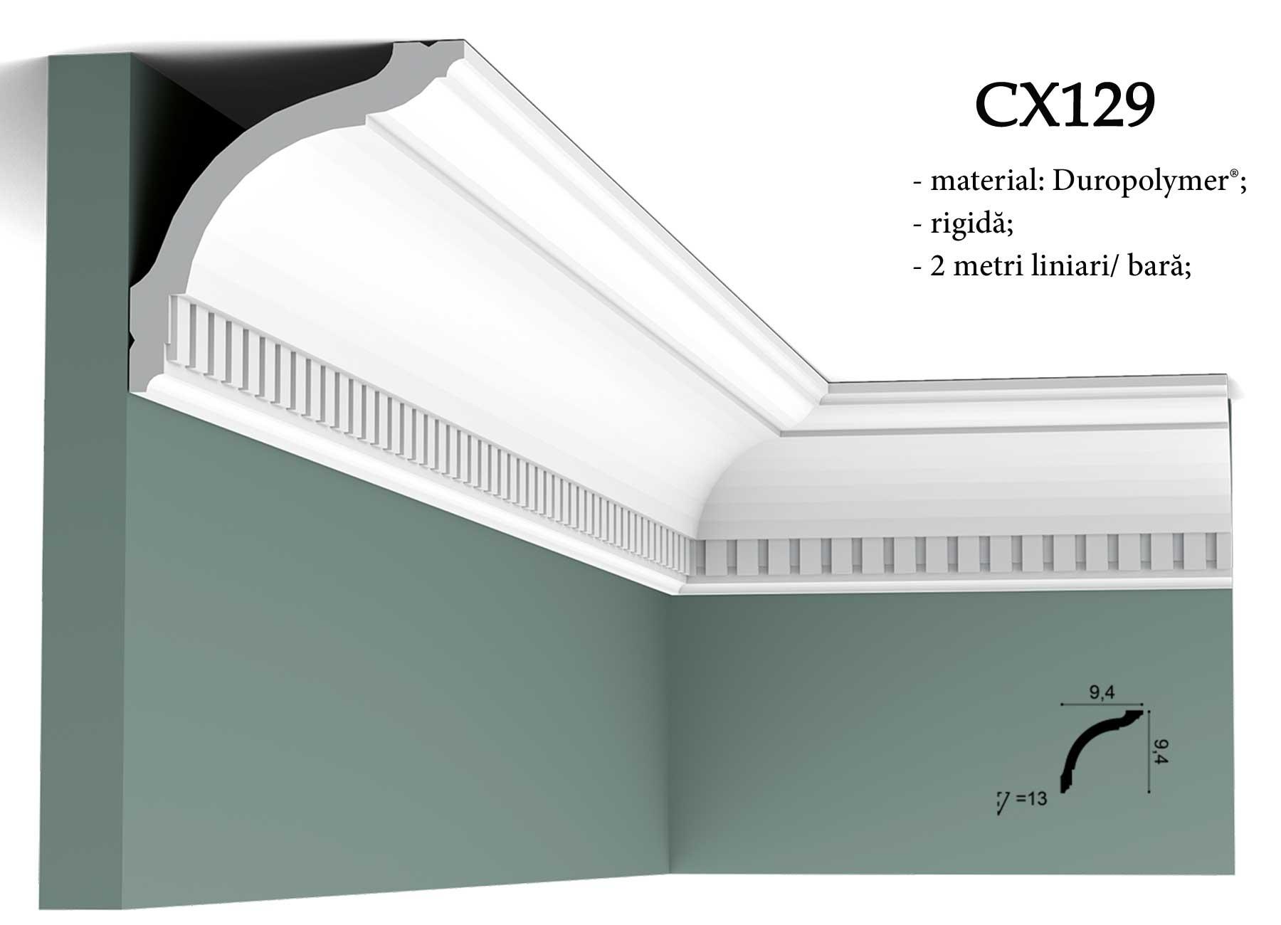 Cornisa decorativa pentru tavan Orac Decor CX129