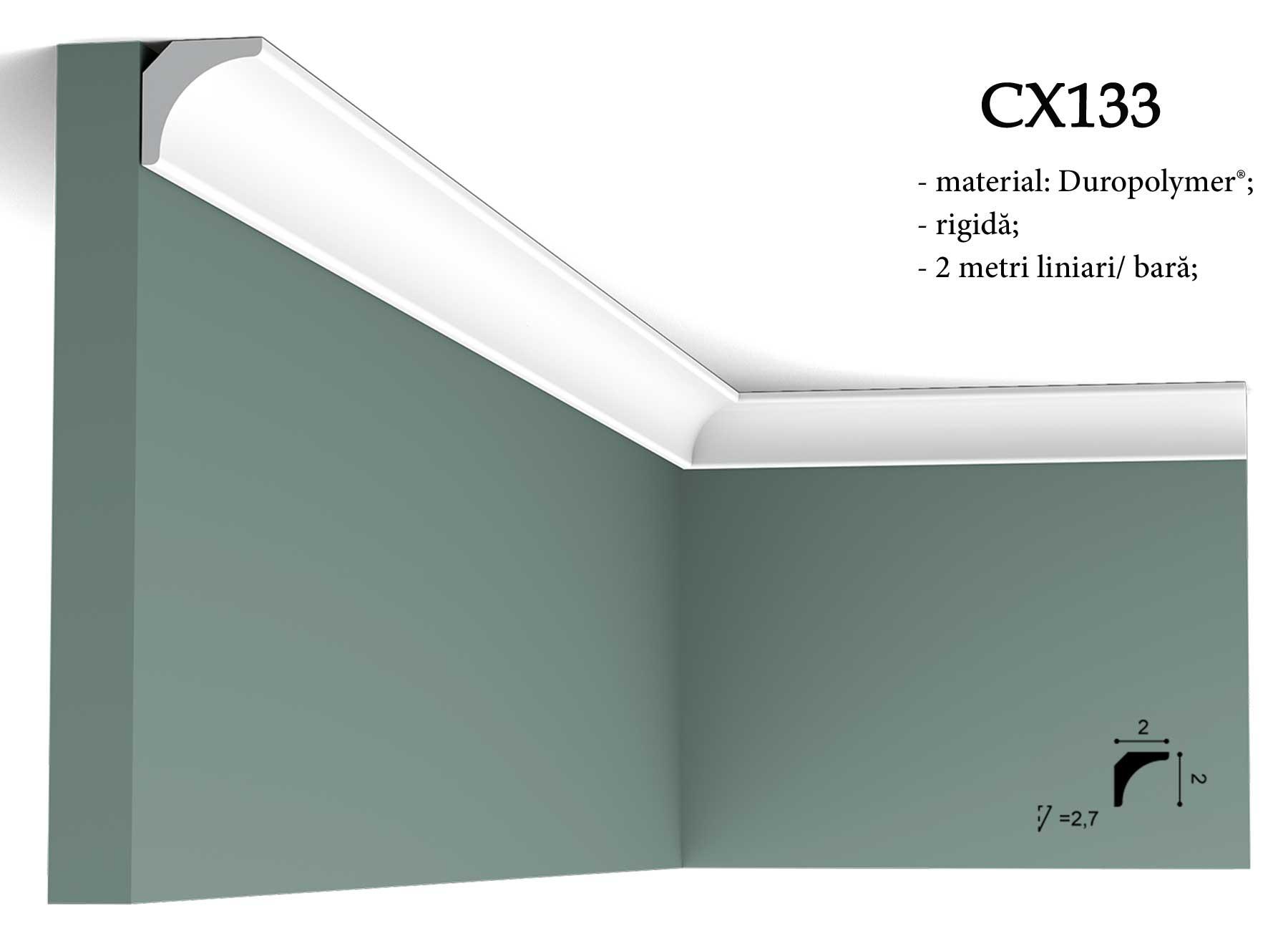 Bagheta pentru tavan Orac CX133