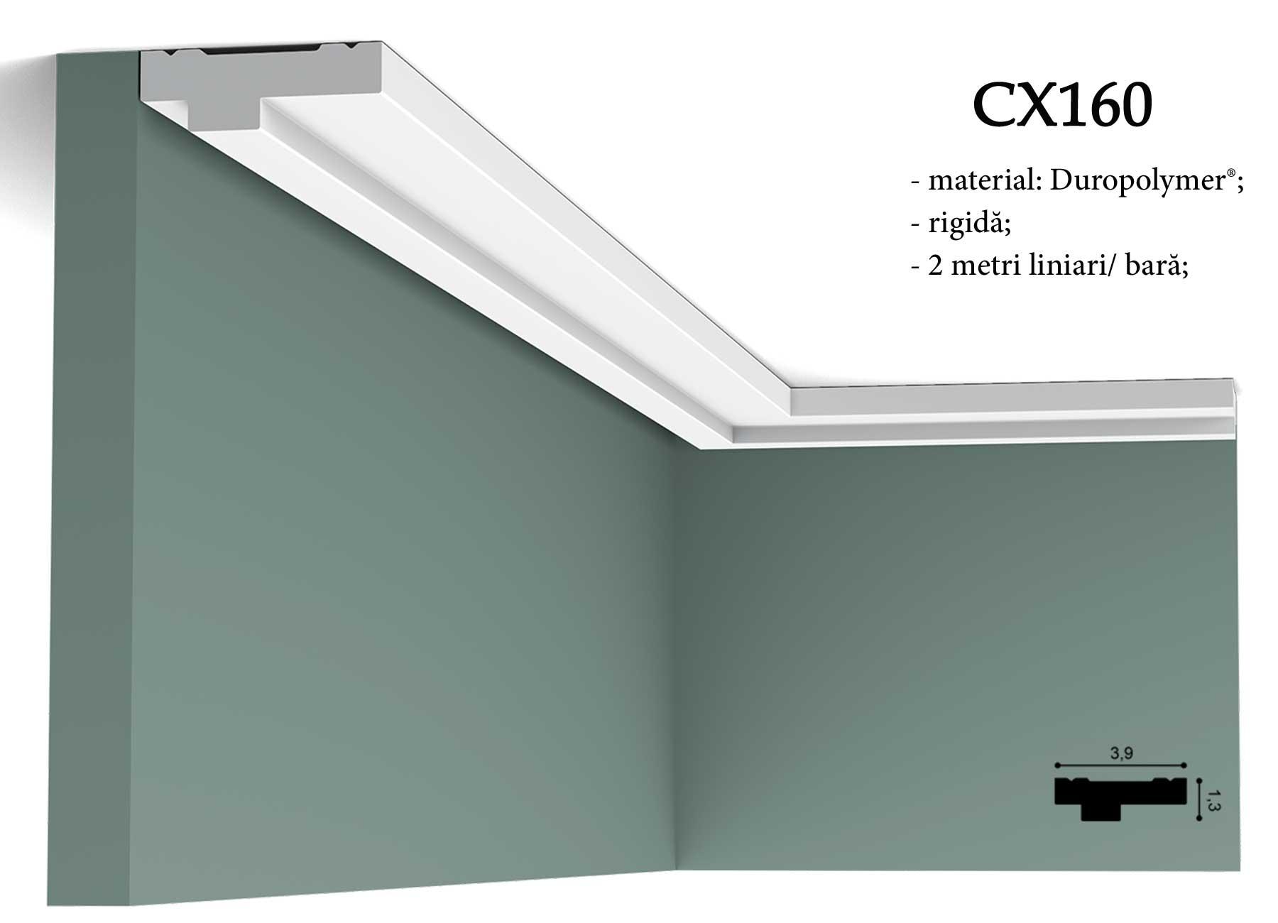 CX160 Cornisa decorativa pentru tavan Orac Decor.
