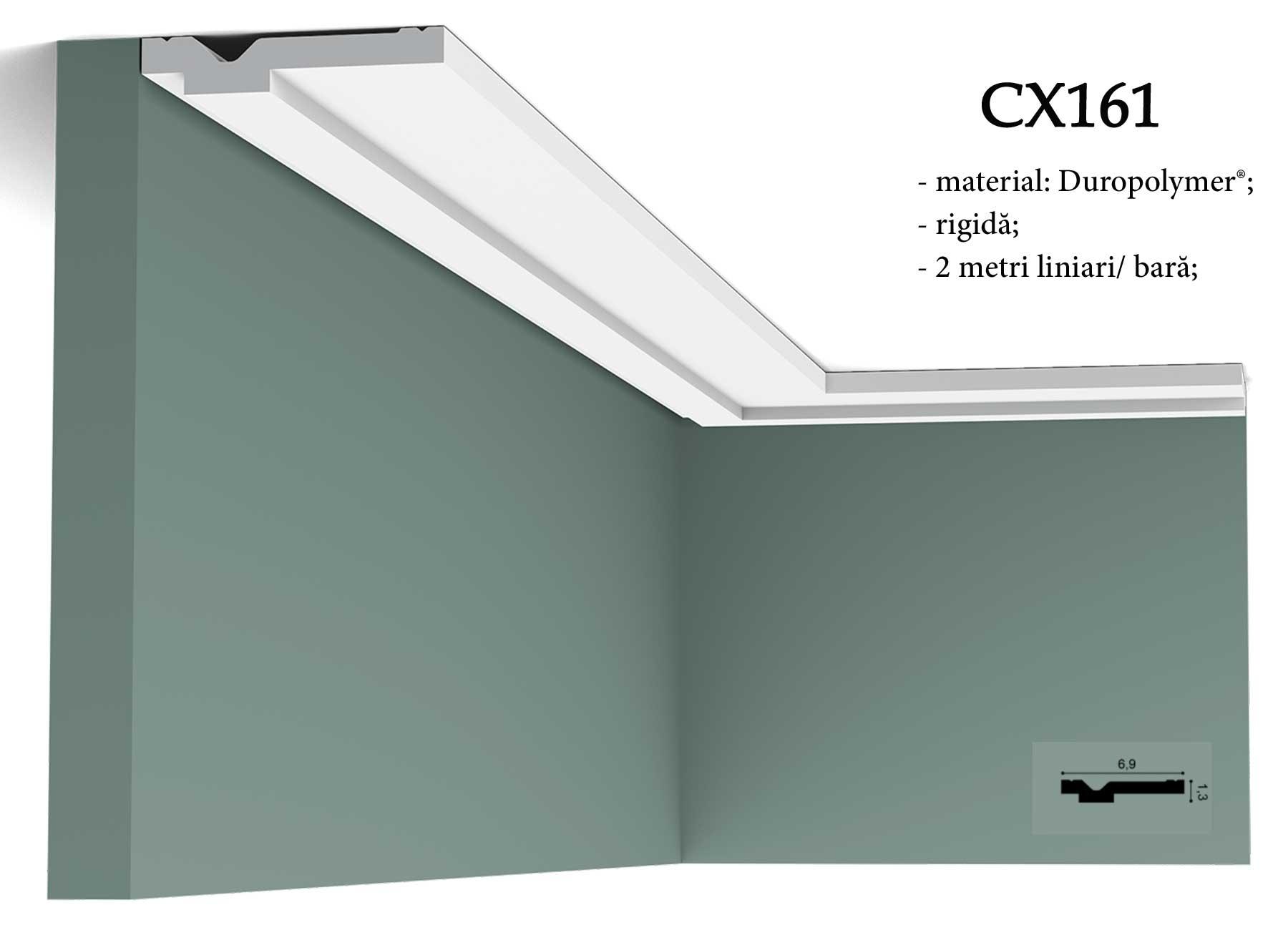CX161 Cornisa decorativa pentru tavan Orac Decor.