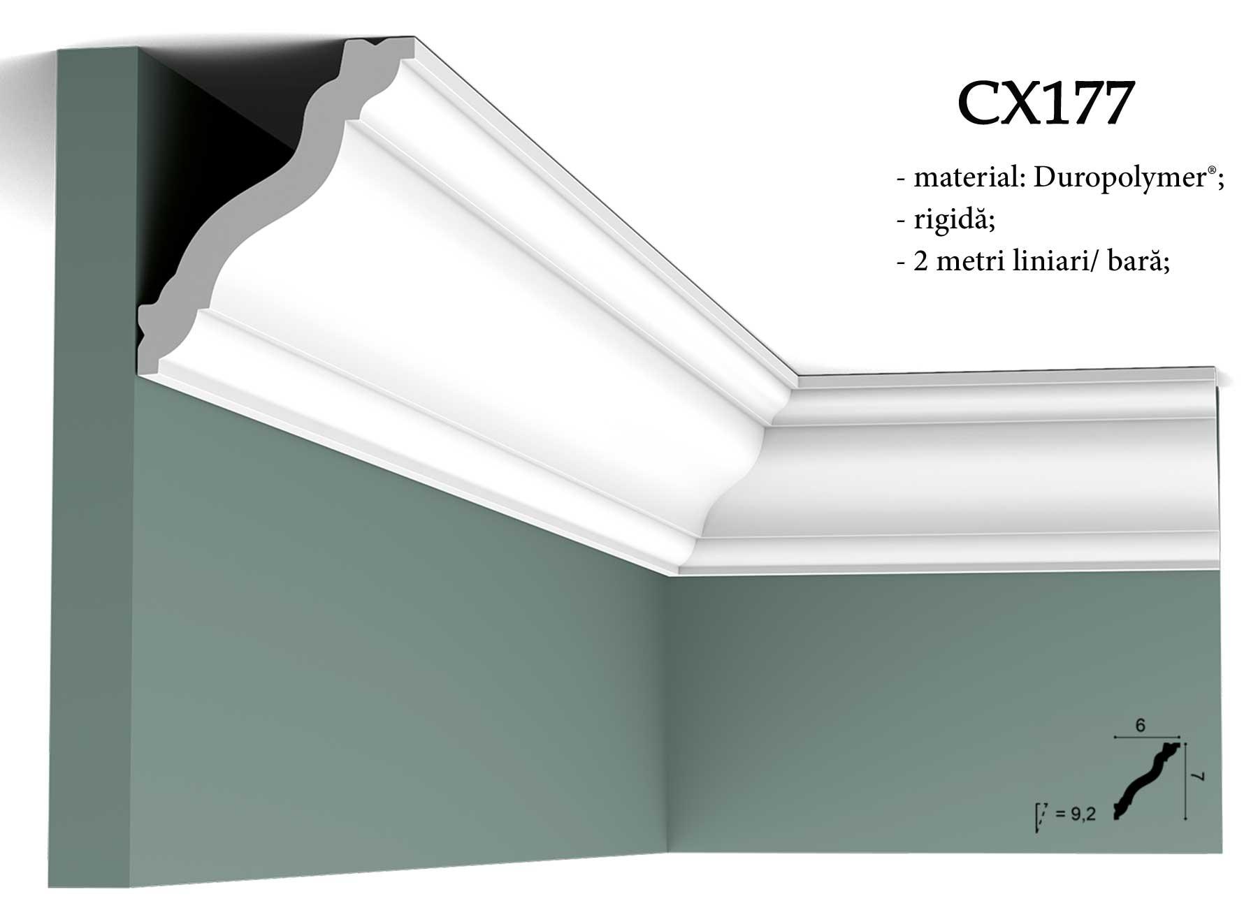 CX177 Cornisa decorativa pentru tavan Orac Decor.