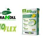 Adeziv profesional pentru gresie portelanata si piatra naturala BIOFLEX Kerakoll.