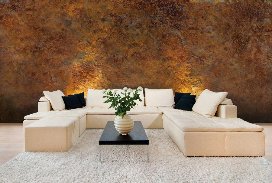 Tencuiala Decorativa Interior Pret.Vopsea Decorativa Cu Aspect Metalic Oxidat Roxidan San Marco Bliss Art