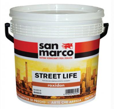 Lavabila decorativa cu aspect de metal oxidat San Marco Roxidan