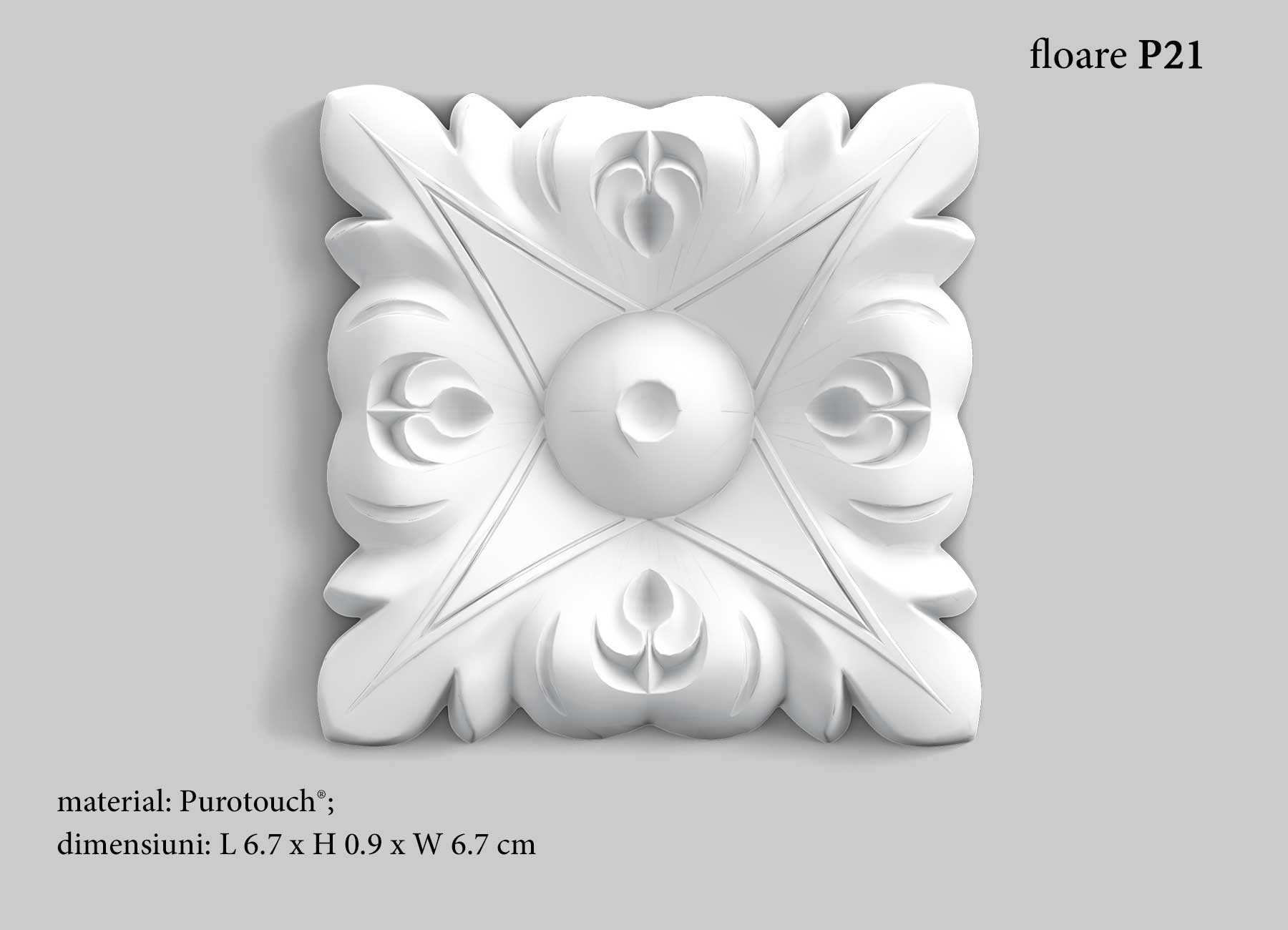 Decor floare perete Orac Decor