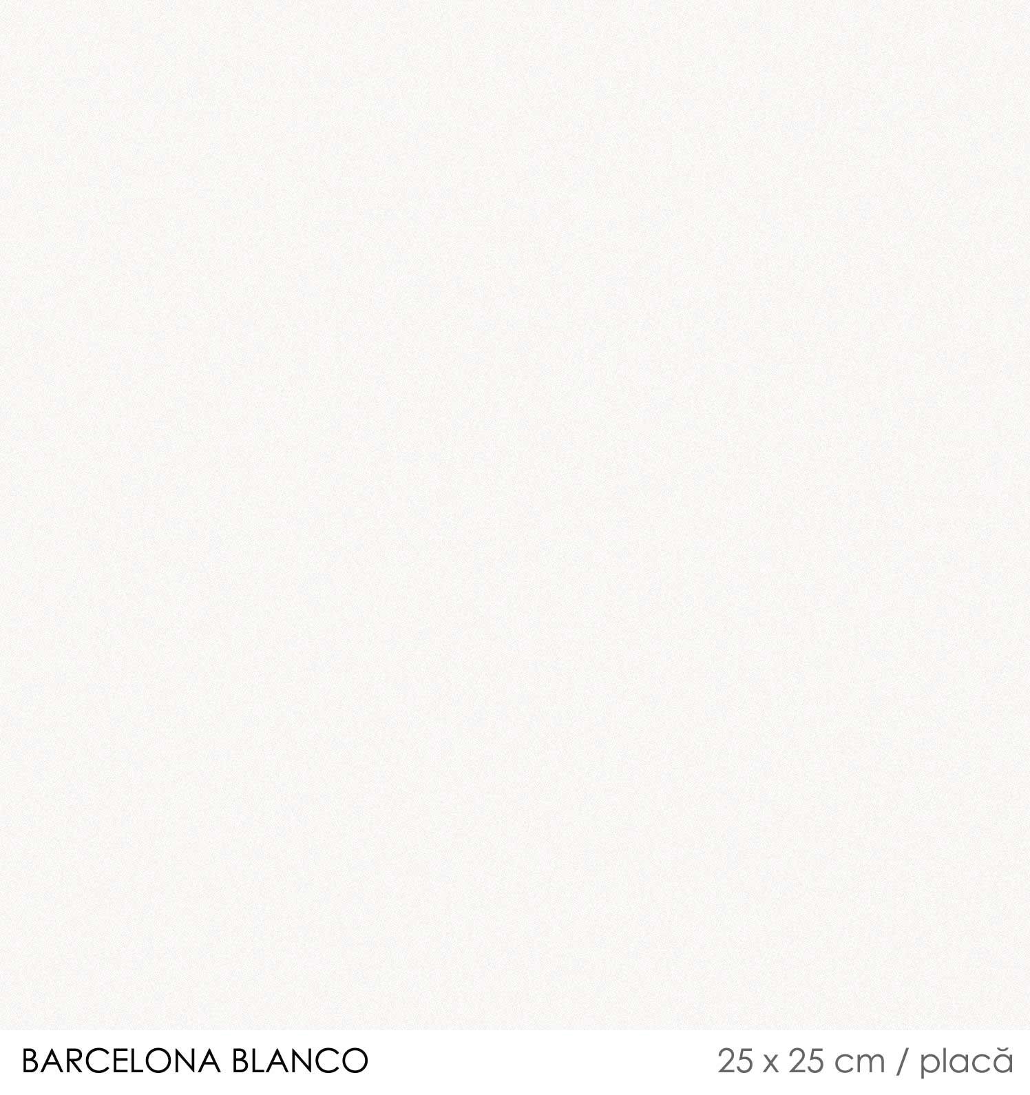 Gresie alba mata 25 x 25 cm Barcelona