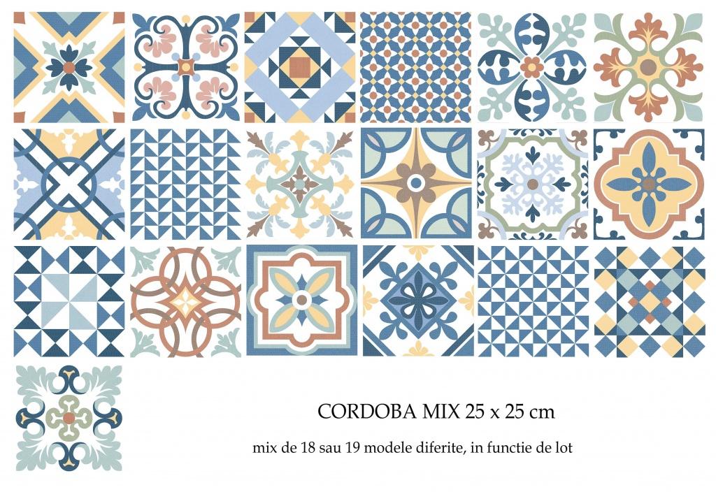 gresie, colorata, patchwork, stil, marocan,