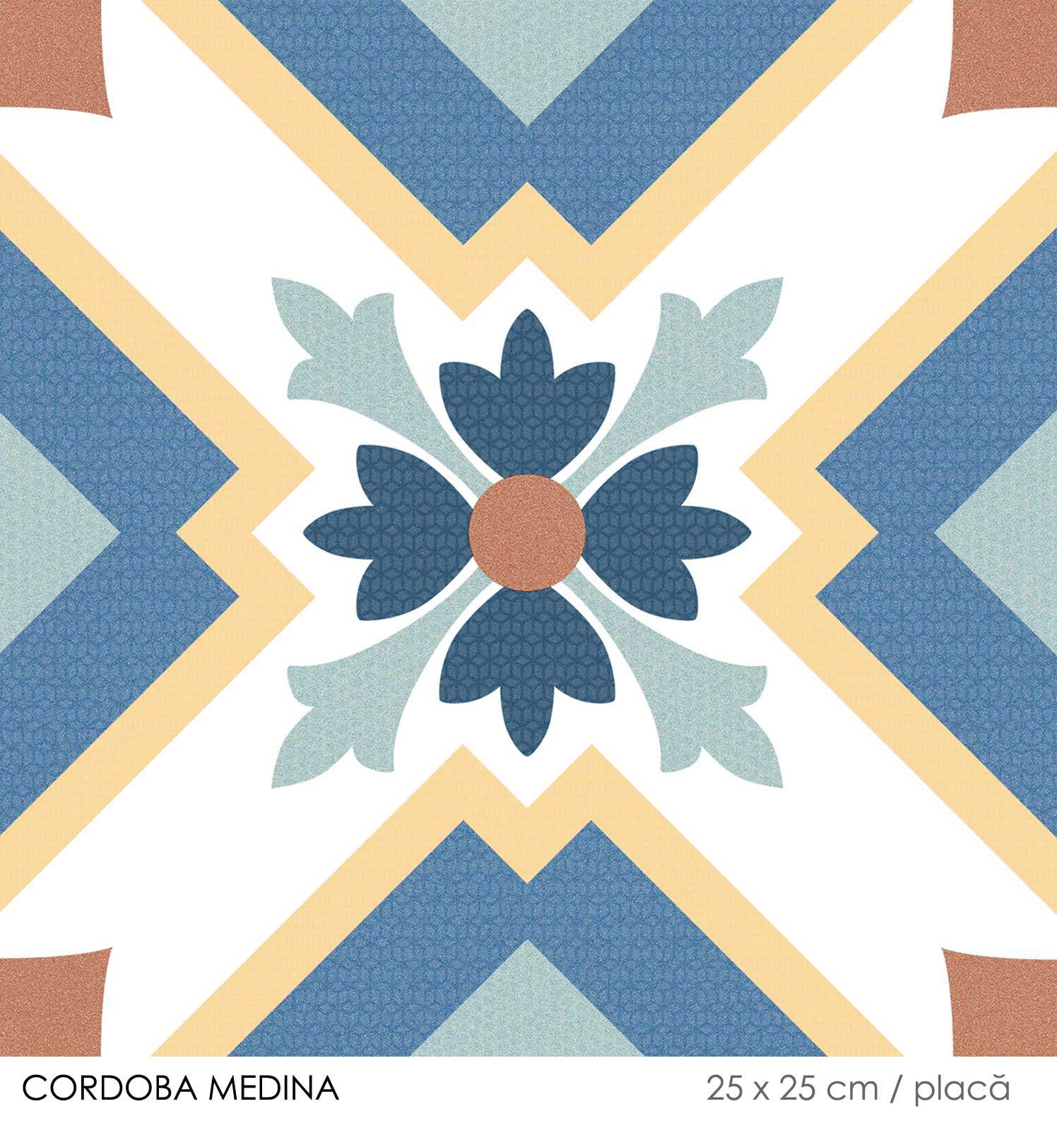 Gresie colorata decorativa Keros