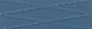 faianta albastra cu insertii argintii
