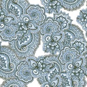 faianta flori albastre