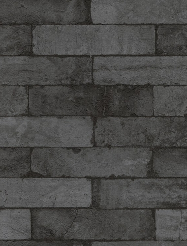 COD 446340  - Tapet stil industrial aspect caramida aparenta
