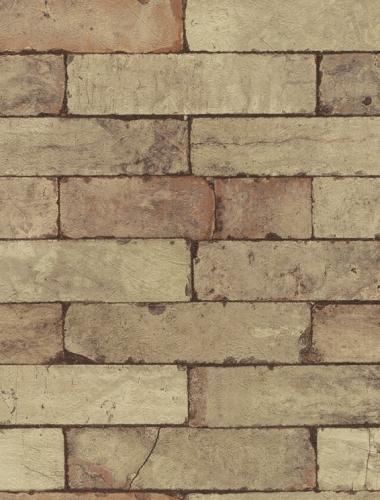 COD 446388  - Tapet stil industrial aspect caramida aparenta