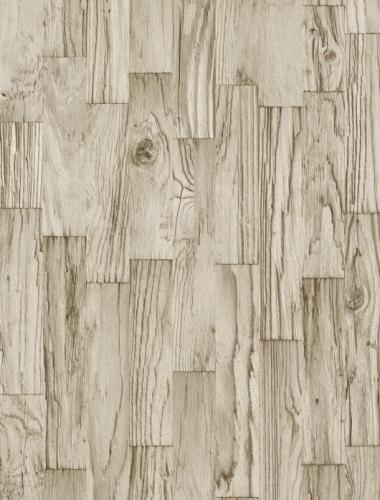 COD 446654  - Tapet stil industrial aspect lemn