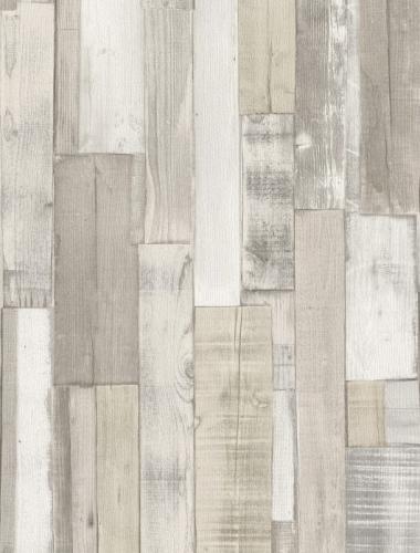COD 446715  - Tapet stil industrial aspect lemn