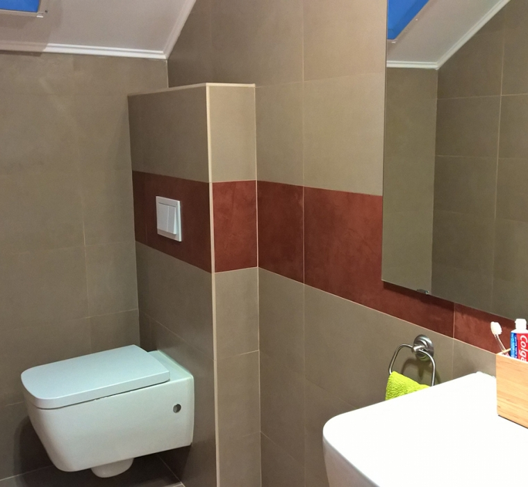 Amenajare baie cu gresie Calitatea A gama CERE UNICOM STARKER