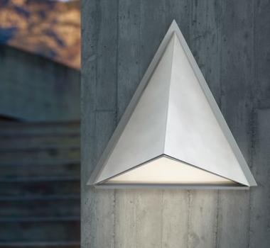 Aplica piramidala perete iluminat exterior 83758 TRIGO Eglo  - BLISS ART DESIGN -