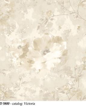 bliss-art-design-tapet-crem-cu-flori-din-vinil-lavabil-cod-5800-victoria