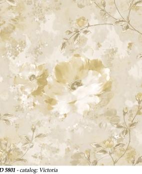 bliss-art-design-tapet-crem-cu-flori-din-vinil-lavabil-cod-5801-victoria