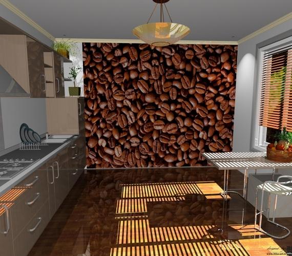 BLISS-ART-DESIGN-fototapet-pentru-bucatarie-model-boabe-cafea-COFFEE-BEANS-cod-182
