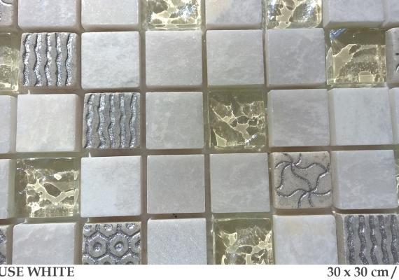 bliss-art-mozaic-alb-din-marmura-si-sticla-pause-white-30x30cm-dimensiune-placa
