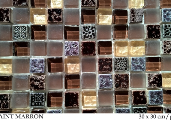 bliss-art-mozaic-maro-din-marmura-si-sticla-paint-marron-30x30cm-dimensiune-placa