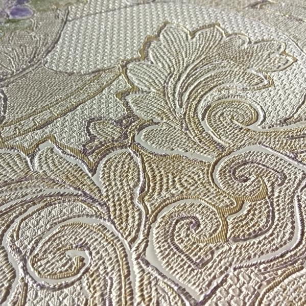 BLISS ART  Tapet dantela model floral pentru dormitor si living gama UNICA 11