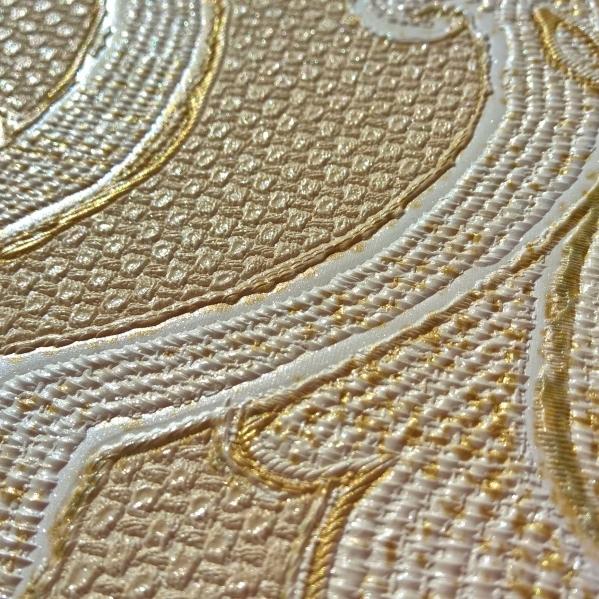 BLISS ART  Tapet dantela model floral pentru dormitor si living gama UNICA 16