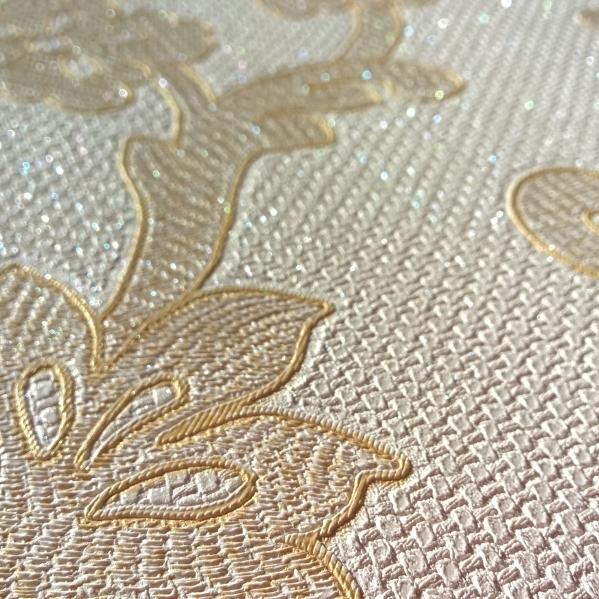 BLISS ART  Tapet dantela model floral pentru dormitor si living gama UNICA 17