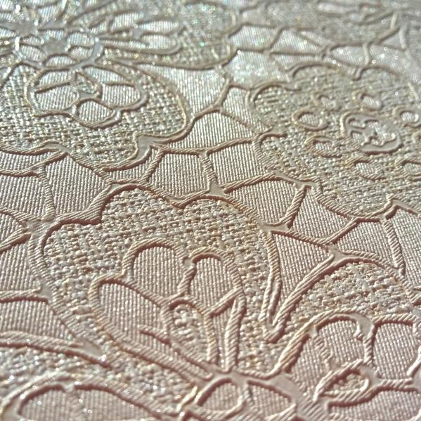 BLISS ART  Tapet dantela model floral pentru dormitor si living gama UNICA 19