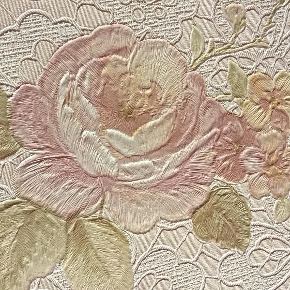 BLISS ART  Tapet dantela model floral pentru dormitor si living gama UNICA 21