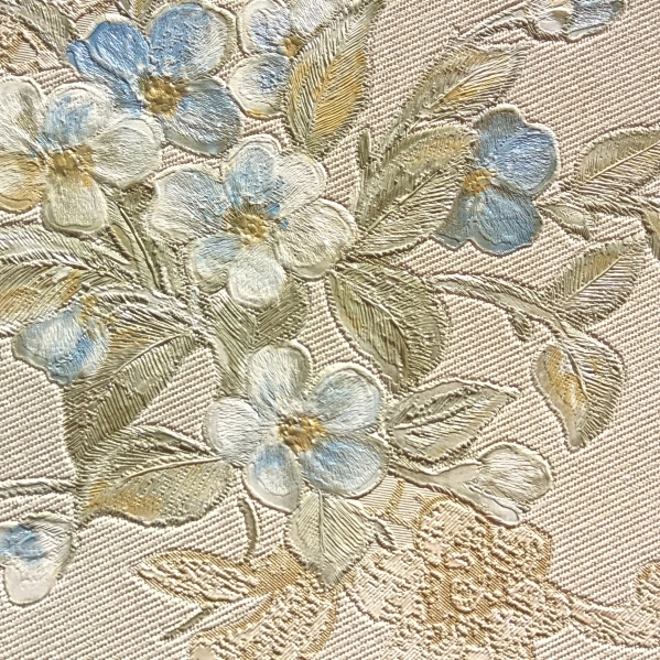 BLISS ART  Tapet dantela model floral pentru dormitor si living gama UNICA 22